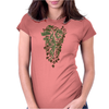 wild animals Womens Fitted T-Shirt