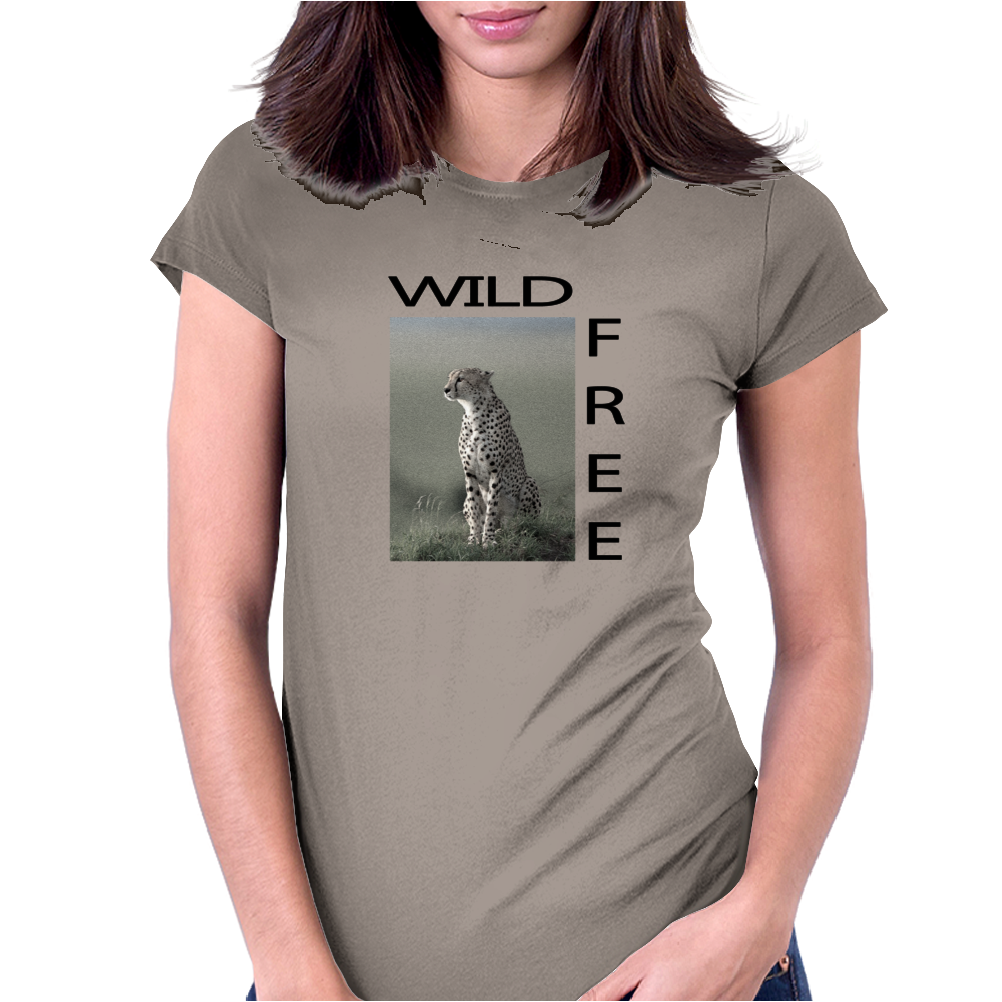 Wild & Free Womens Fitted T-Shirt
