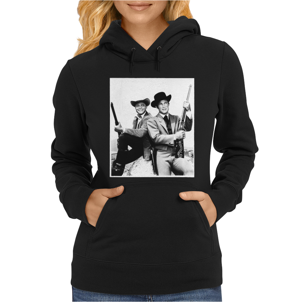 Wild Wild West Robert Conrad TV Show Womens Hoodie