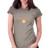 Will Work for Bitcoin Womens Fitted T-Shirt