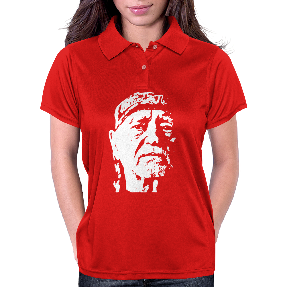 Willie Nelson Womens Polo