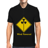 Wind Powered Eco Toxic Radioactive Fart Talking Rubbish Mens Polo