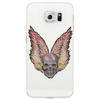 winged skull cell Phone Case