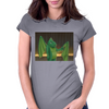 Wingless Womens Fitted T-Shirt