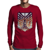Wings of freedom - Attack on titan Mens Long Sleeve T-Shirt