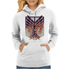 Wings of freedom - Attack on titan Womens Hoodie