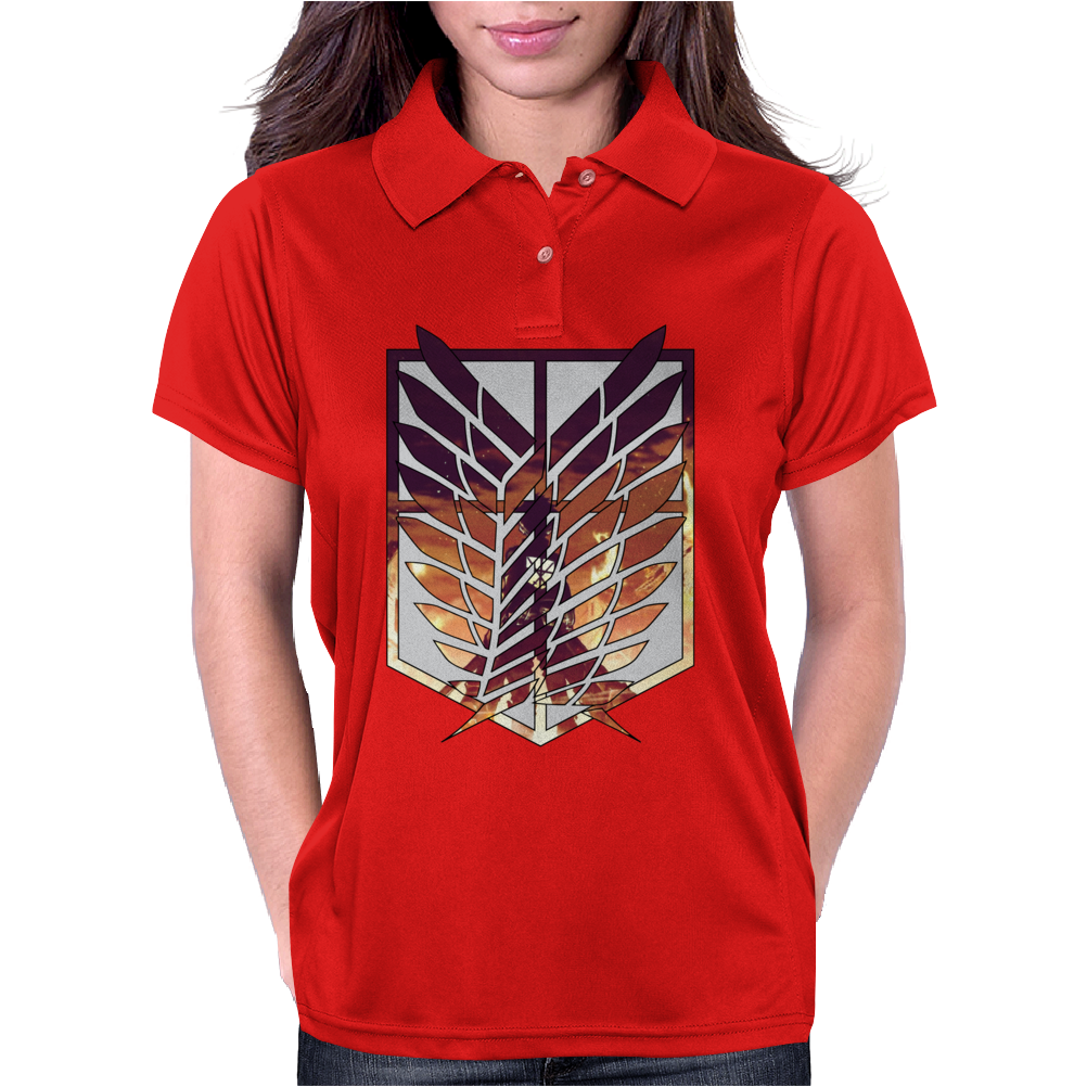 Wings of freedom - Attack on titan Womens Polo