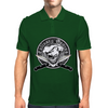 Winking Chef Skull 7: Culinary Genius Mens Polo
