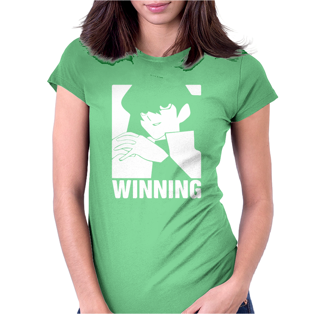 Winning Womens Fitted T-Shirt