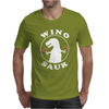 Wino Saur - Funny Wine Drinking Mens T-Shirt