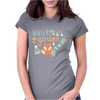 Winter garden pattern 001 Womens Fitted T-Shirt
