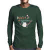 Winter garden pattern 003 Mens Long Sleeve T-Shirt