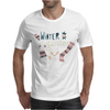 Winter garden pattern 004 Mens T-Shirt