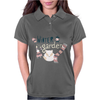 Winter garden pattern 004 Womens Polo