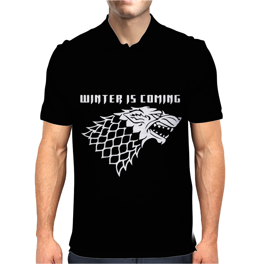 Winter is Coming Mens Polo