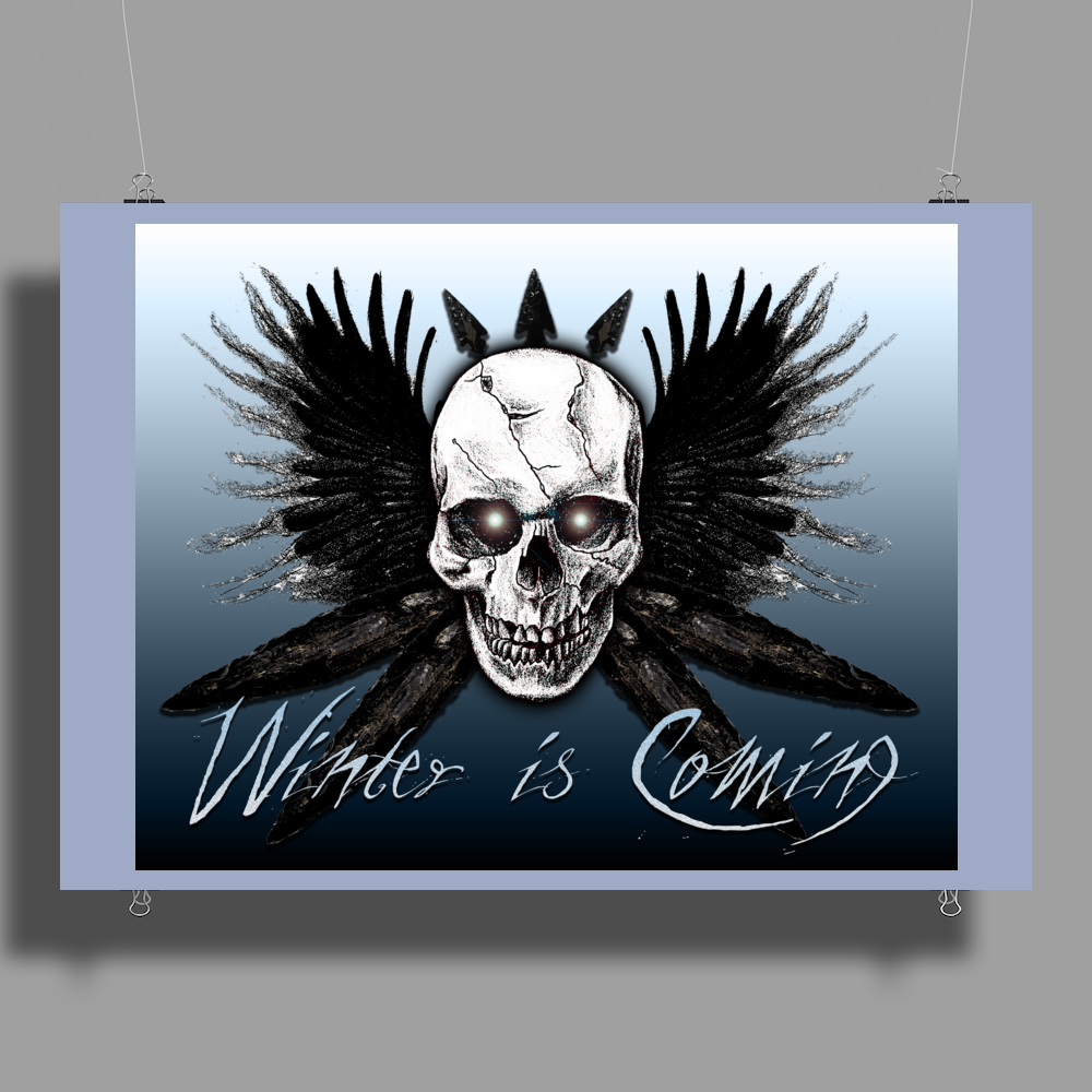 winter is coming Poster Print (Landscape)