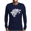 Winter is Coming Typography Mens Long Sleeve T-Shirt