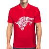 Winter is Coming Typography Mens Polo
