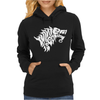 Winter is Coming Typography Womens Hoodie
