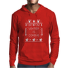 Winter Is Coming Ugly Christmas Sweater Mens Hoodie