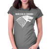 Winter is Coming Womens Fitted T-Shirt