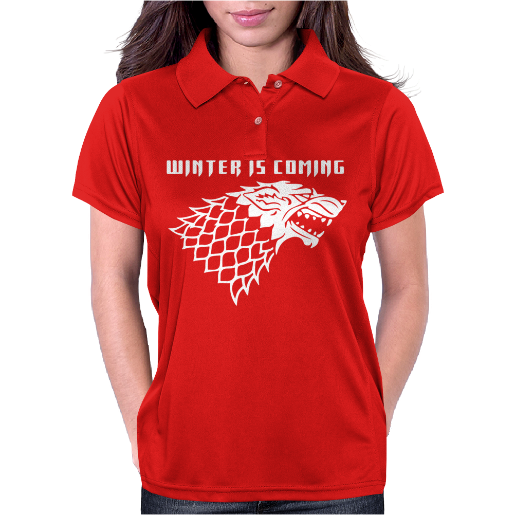 Winter is Coming Womens Polo