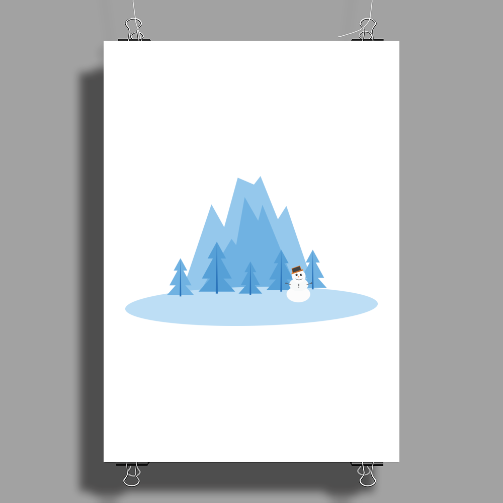 Winter Wonderland Poster Print (Portrait)