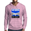 Wire - Dot Dash Mens Hoodie