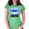 Wire - Dot Dash Womens Fitted T-Shirt