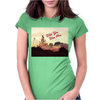 Wish you were here Womens Fitted T-Shirt