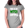 WITCH COSTUME Womens Fitted T-Shirt