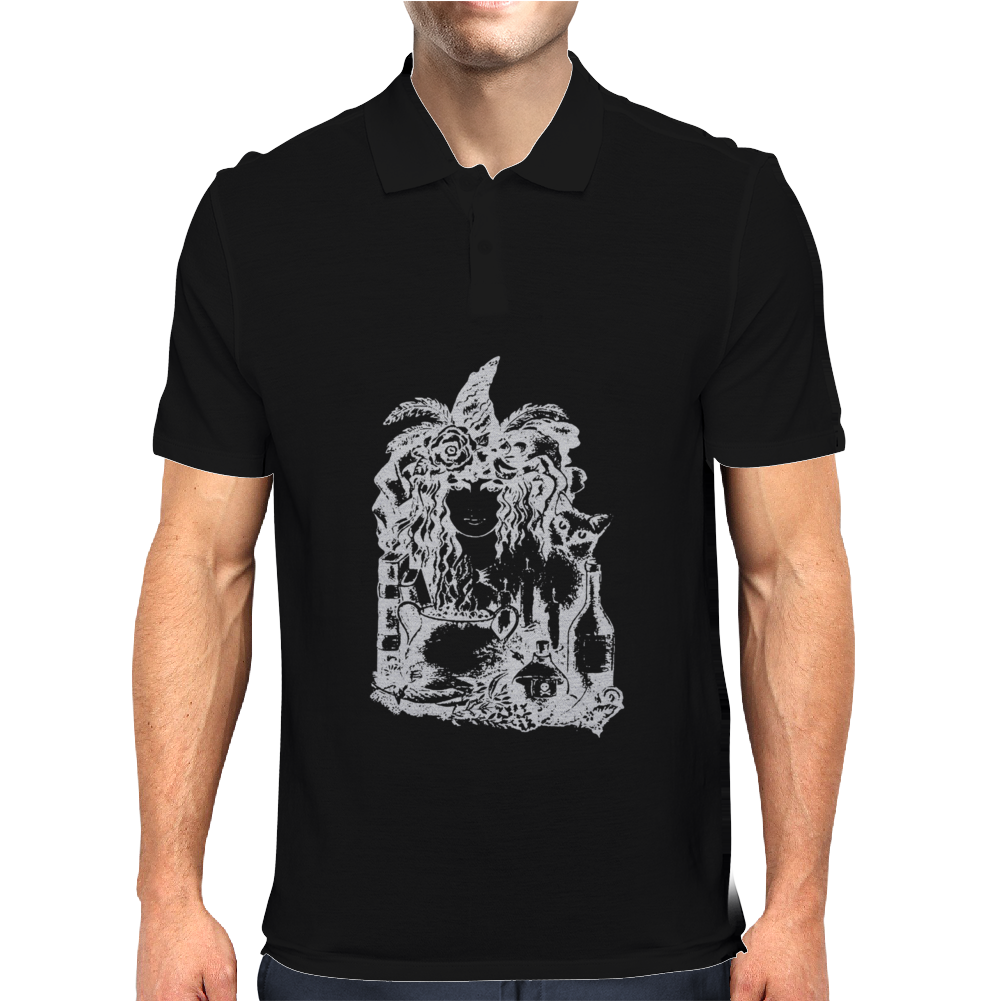 Witch girl Mens Polo
