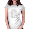 Witch girl Womens Fitted T-Shirt