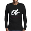 Witch Halloween Fancy Mens Long Sleeve T-Shirt