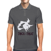 Witch Halloween Fancy Mens Polo