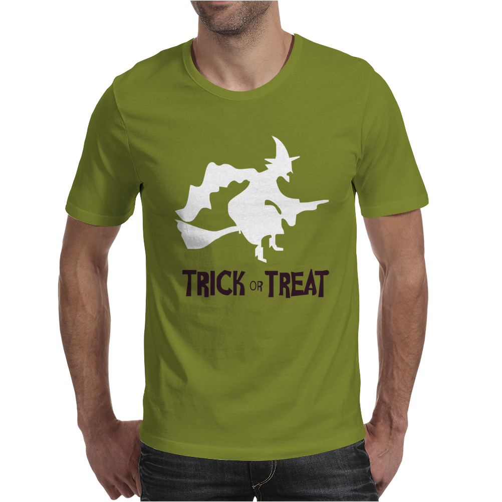 Witch Halloween Fancy Mens T-Shirt