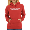 With A Body Like This Who Needs Hair.. Womens Hoodie