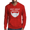 With Great Beard Comes Great Responsibility Mens Hoodie
