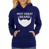 With Great Beard Comes Great Responsibility Womens Hoodie