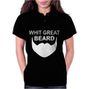 With Great Beard Comes Great Responsibility Womens Polo