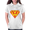 with Superman VW Logo Womens Polo