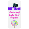 Within the Child lies the fate of the future - Quote by Maria Montessori Phone Case