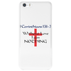 Without Love I am nothing Phone Case