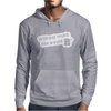 Without Music Life Would Be Flat Mens Hoodie