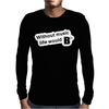 Without Music Life Would Be Flat Mens Long Sleeve T-Shirt