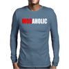 Wodaholic Mens Long Sleeve T-Shirt