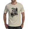 Wolf Princess Warrior Mens T-Shirt