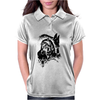 Wolf Princess Warrior Womens Polo