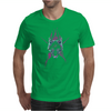 Wolf Star Mens T-Shirt
