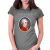 Wolfgang Amadeus Mozart Womens Fitted T-Shirt